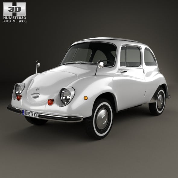 Subaru 360 1958 - 3DOcean Item for Sale