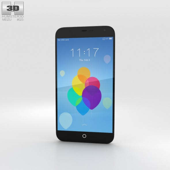 Meizu MX3 Black/White