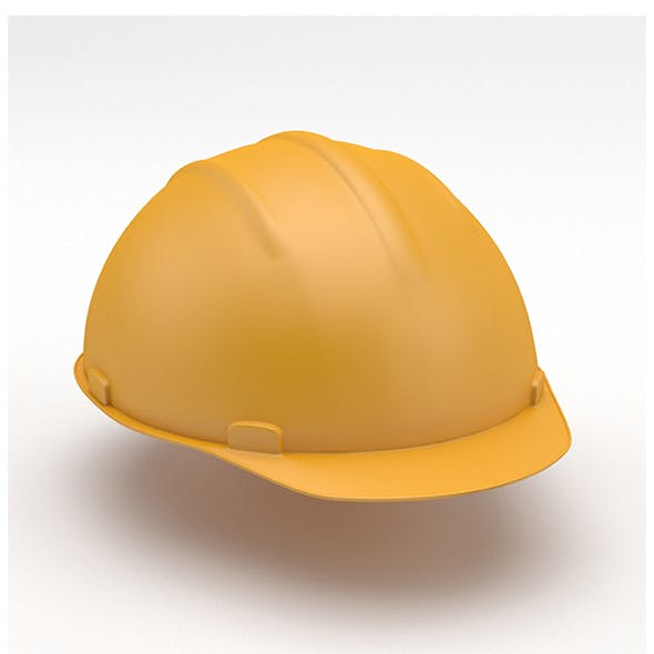 Construction helmet - 3DOcean Item for Sale