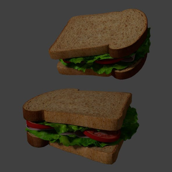Sandwich - 3DOcean Item for Sale