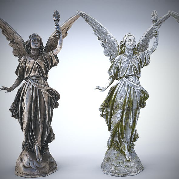 Sculptures Pack Vol.1 Statue 3