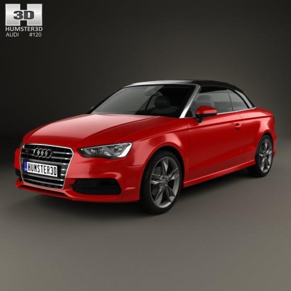 Audi S3 Cabriolet 2014 - 3DOcean Item for Sale