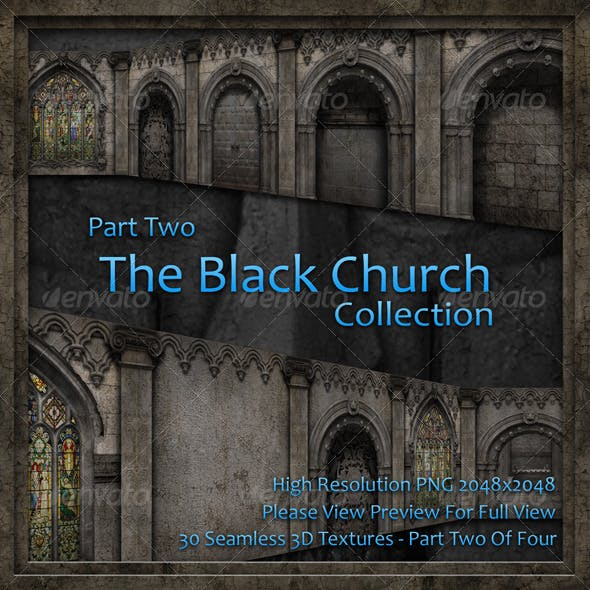 The Black Church Collection - Part Two - 3DOcean Item for Sale