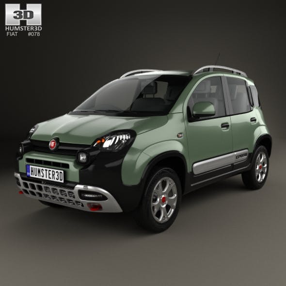 Fiat Panda Cross 2014 - 3DOcean Item for Sale