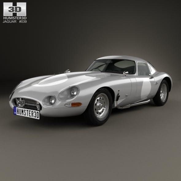 Jaguar E-type Lightweight 1963 - 3DOcean Item for Sale