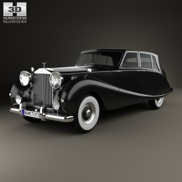 Rolls-Royce Silver Wraith Touring Limousine 1955 - 3DOcean Item for Sale