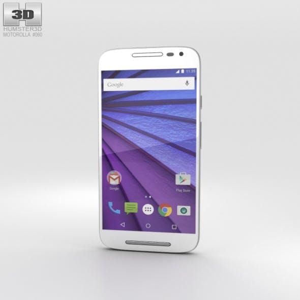 Motorola Moto G (3rd Gen) White - 3DOcean Item for Sale