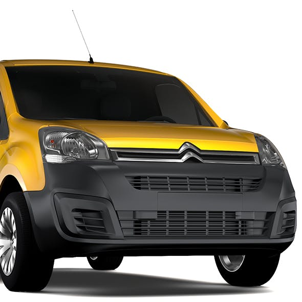 Citroen Berlingo Van L1 2slidedoors 2017 - 3DOcean Item for Sale