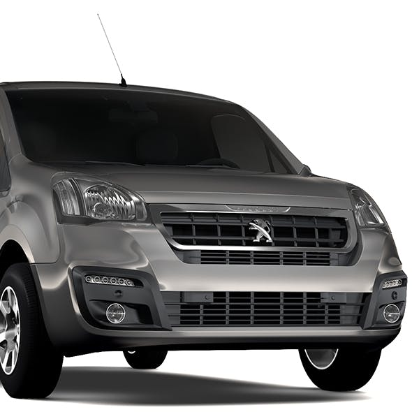 Peugeot Partner Van L1 2slidedoors 2017 - 3DOcean Item for Sale