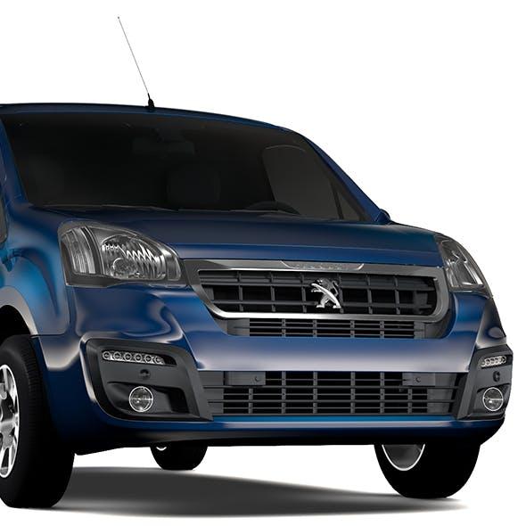 Peugeot Partner Van L1 2017 - 3DOcean Item for Sale