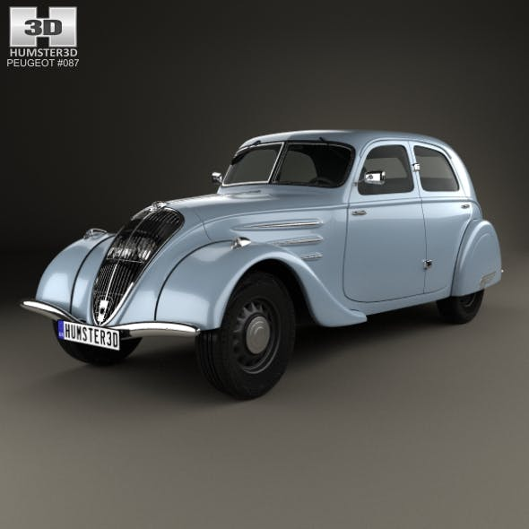 Peugeot 302 1936 - 3DOcean Item for Sale