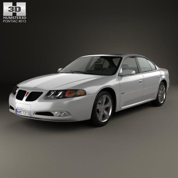 Pontiac Bonneville GXP 2004 - 3DOcean Item for Sale