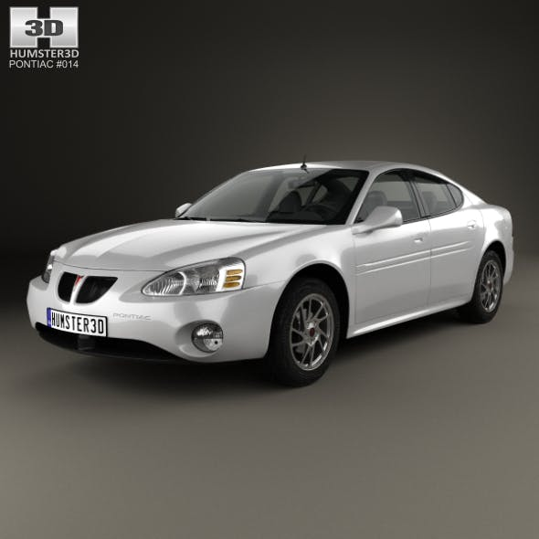Pontiac Grand Prix GTP 2004 - 3DOcean Item for Sale