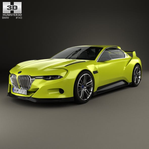 BMW 3.0 CSL Hommage 2015 - 3DOcean Item for Sale