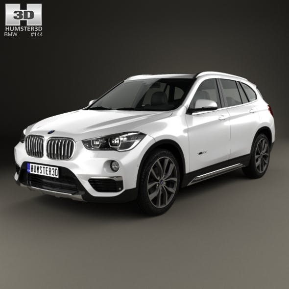 BMW X1 (F48) 2015 - 3DOcean Item for Sale