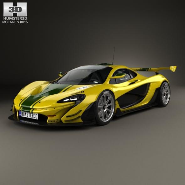 McLaren P1 GTR 2014 - 3DOcean Item for Sale