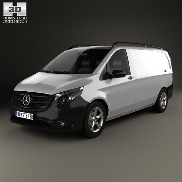 Mercedes-Benz Vito (W447) Panel Van L2 2014 - 3DOcean Item for Sale