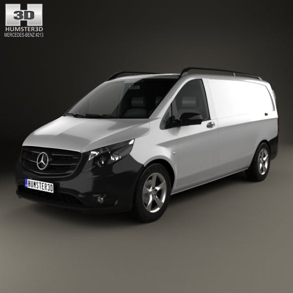 Mercedes-Benz Vito (W447) Panel Van L2 2014