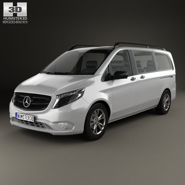 Mercedes-Benz Vito Tourer Select L2 (W447) 2014 - 3DOcean Item for Sale