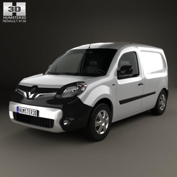Renault Kangoo Van 2014 - 3DOcean Item for Sale