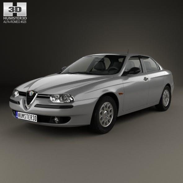 Alfa-Romeo 156 1997 - 3DOcean Item for Sale