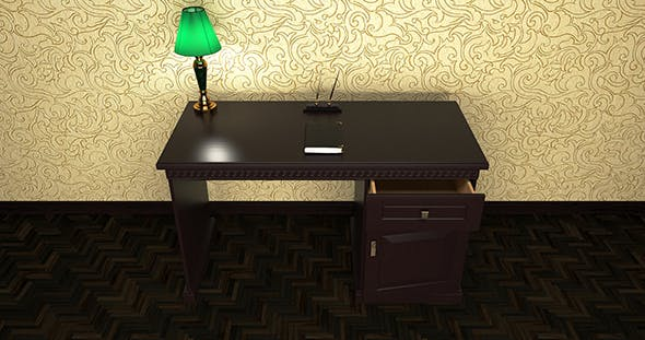 Desk - 3DOcean Item for Sale