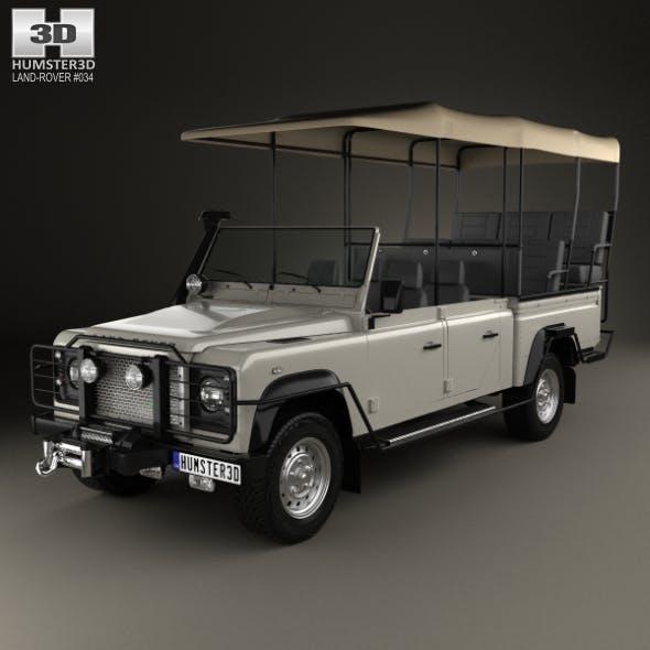 Land Rover Defender Safari Game Viewing 1990 - 3DOcean Item for Sale
