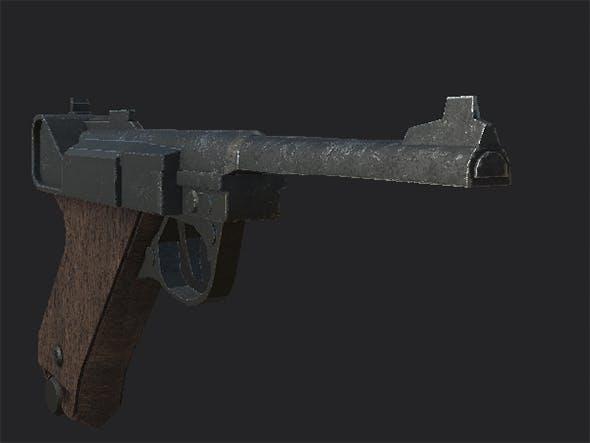 Luger P08 - 3DOcean Item for Sale