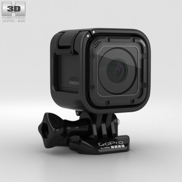 GoPro HERO4 Session - 3DOcean Item for Sale