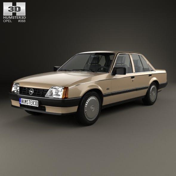 Opel Rekord 1982 - 3DOcean Item for Sale