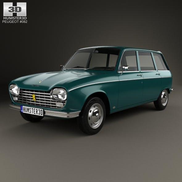 Peugeot 204 Break 1966 - 3DOcean Item for Sale