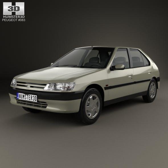 Peugeot 306 5-door hatchback 1993 - 3DOcean Item for Sale