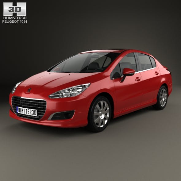 Peugeot 308 (CN) 2011 - 3DOcean Item for Sale