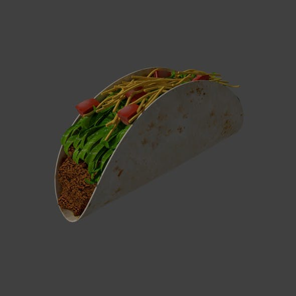 Taco - 3DOcean Item for Sale