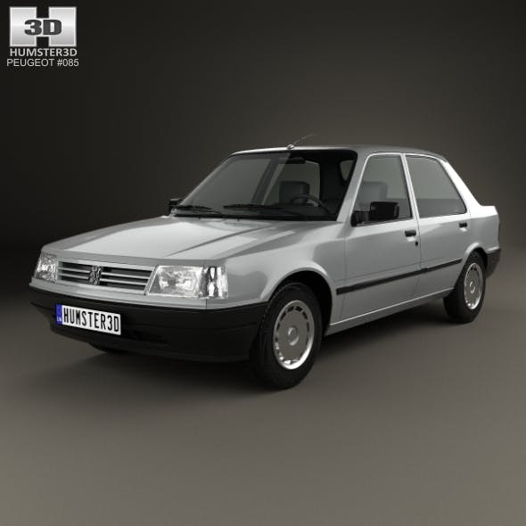 Peugeot 309 5-door 1985