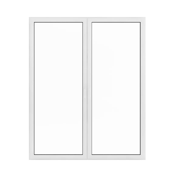 White Window (209.5 x 171 cm)
