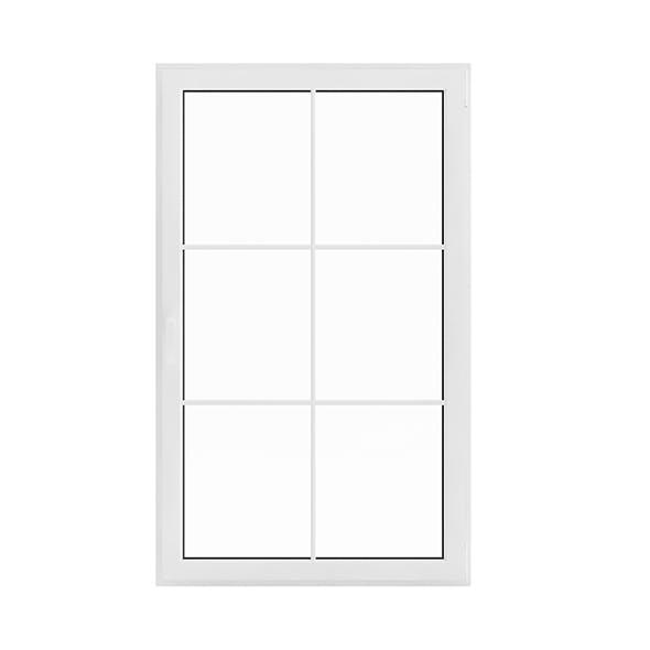 White Window (143.5 x 86.5 cm)