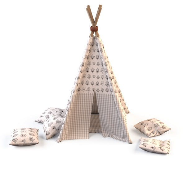 Childrens play tent 4
