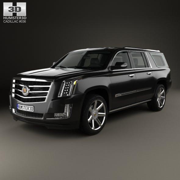 Cadillac Escalade ESV Platinum 2015 - 3DOcean Item for Sale