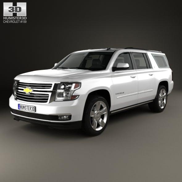 Chevrolet Suburban LTZ 2014 - 3DOcean Item for Sale