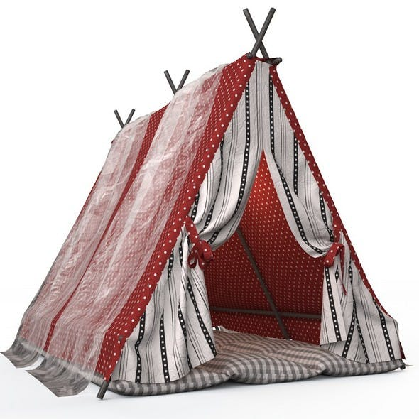 Childrens play tent 5