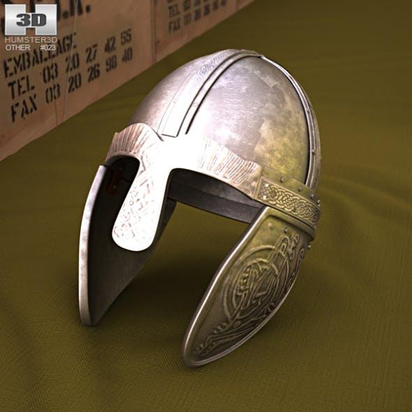 Embossed Viking Helmet - 3DOcean Item for Sale