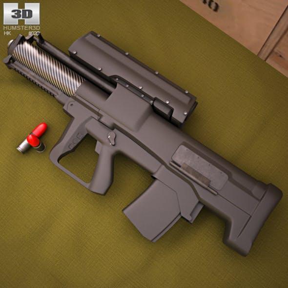 Heckler & Koch XM25 - 3DOcean Item for Sale
