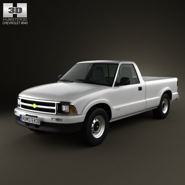 Chevrolet S10 SingleCab LongBed 1994 - 3DOcean Item for Sale