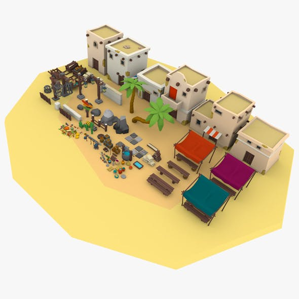 Desert City Pack