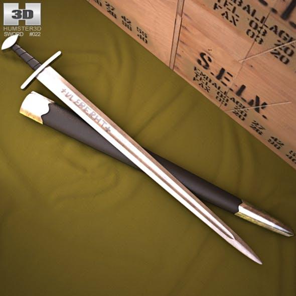 Viking Ulfberht Sword - 3DOcean Item for Sale