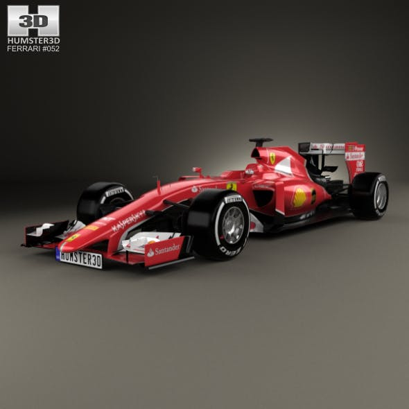 Ferrari SF15-T 2015 - 3DOcean Item for Sale