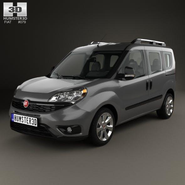 Fiat Doblo Passenger L1H1 2015 - 3DOcean Item for Sale