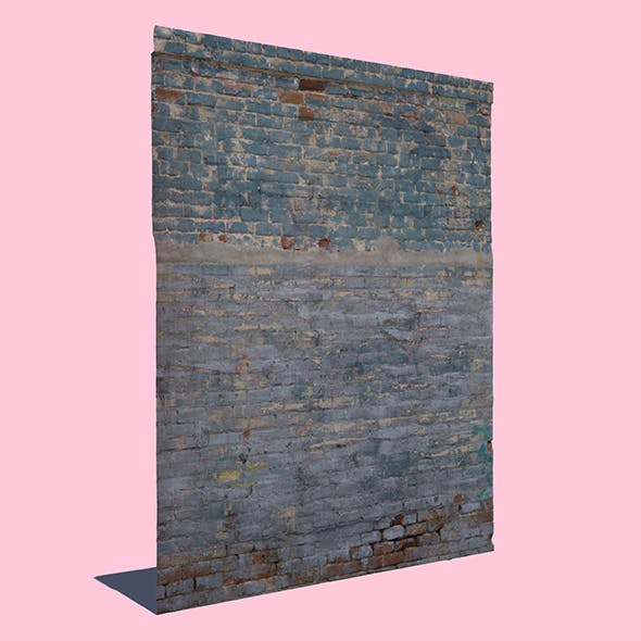 Cool Brick Wall - 3DOcean Item for Sale