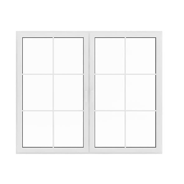 White Window (143.5 x 171 cm) - 3DOcean Item for Sale